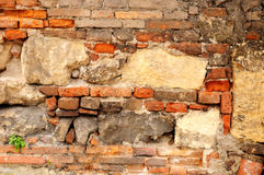 Old stone wall. Royalty Free Stock Photography