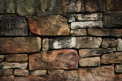 Old stone wall with rough texture Royalty Free Stock Photo