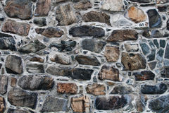 Old Stone Wall. Stone Pattern Background / Texture Stock Photography