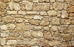 Old stone wall ter Stock Photos