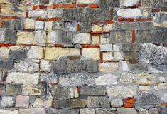 Old stone wall texture Royalty Free Stock Photos
