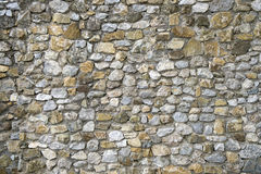 Old stone wall texture. Background Royalty Free Stock Photo