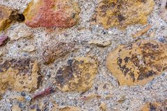 Old stone wall texture for background Royalty Free Stock Photos