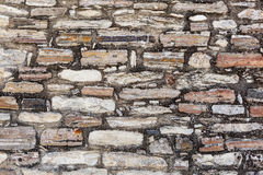 Old stone wall texture. Stock Photos
