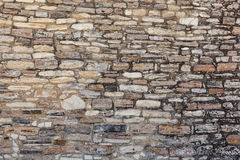 Old stone wall texture. Royalty Free Stock Image