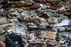 Old Stone Wall Texture Stock Images