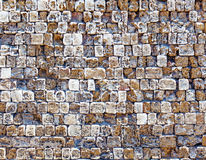 Old stone wall texture photo Stock Image