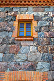 Old stone wall and window Stock Photos