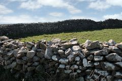 Old stone walls Stock Photos