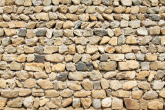 Old stone walls, closeup of pictures Stock Image