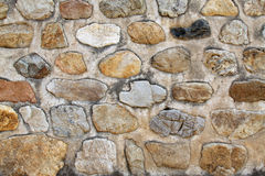 Old stone walls, closeup of pictures Stock Photography