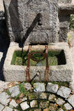Old Stone Water Well, Mortemart, France Stock Photos