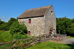 Old stone watermill. In Bunratty Ireland royalty free stock photo