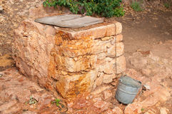 Old stone well. On Island Hvar, Croatia Royalty Free Stock Photography