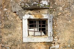Old stone window Royalty Free Stock Image