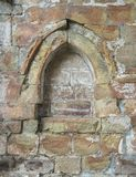 Old stone window colored Royalty Free Stock Photo