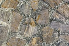 Old stones give a harmonic background. Old stones of a veranda give a harmonic background stock images