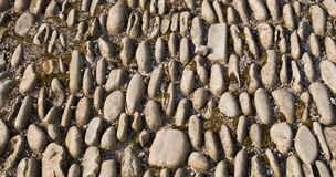 Old stones pavement Royalty Free Stock Images