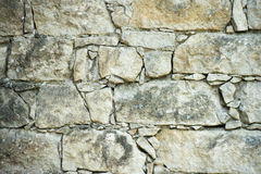 Old Stones wall background detail Royalty Free Stock Photos