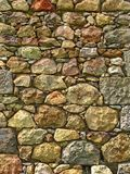 Old stones wall Stock Photography