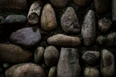 Old stones wall Royalty Free Stock Images
