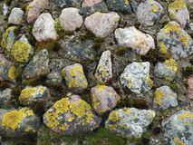 Old stones wall surface Royalty Free Stock Photo