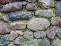 Old stones wall texture Stock Photos