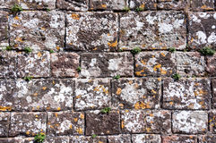 Old stonewall for background Stock Photography