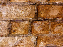 Old stonework. Old brick wall. Could be used as a background royalty free stock photo