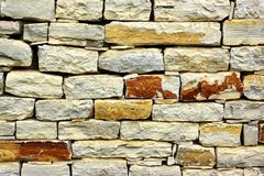 Old Stonework Wall Royalty Free Stock Photography