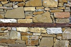 Old Stonework Wall Royalty Free Stock Photos