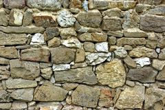 Old Stonework Wall Royalty Free Stock Photo