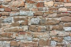 Old Stonework Wall Stock Images