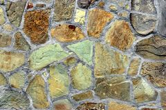 Old Stonework Wall Stock Photography
