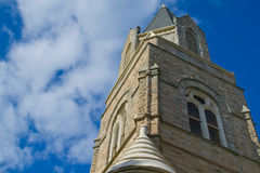Old Stony Church Bell Tower Stock Photography