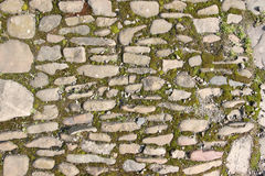 Old stony pavement Stock Photo