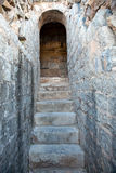 Old stony  stairs Royalty Free Stock Images
