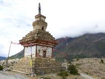 Old Stony Stupa Stock Photo