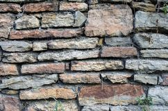 Old stony wall Royalty Free Stock Image