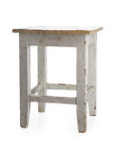 Old stool stock image