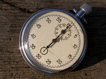 Old stopwatch timer Royalty Free Stock Images