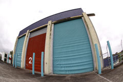 Old storage building Royalty Free Stock Images