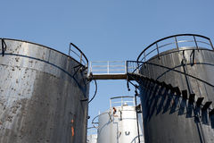 Old storage tank Stock Photography