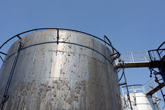 Old storage tank Royalty Free Stock Image