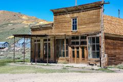 An Old Store in Bodie, California royalty free stock photography