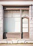 Old store front. Old store in berlin - nice facade Royalty Free Stock Photography