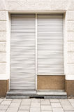 Closed store. Old store front - closed - nice background Royalty Free Stock Images