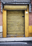 Old store front. Nice facade Royalty Free Stock Photography