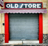 Old store front. Nice facade Royalty Free Stock Photo