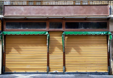 Old store front. Nice facade stock photography